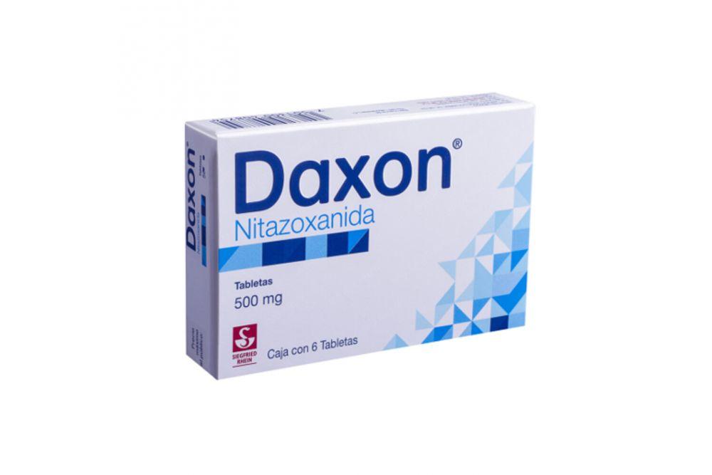 Nitazoxanida 500 mg. 6 Tabletas