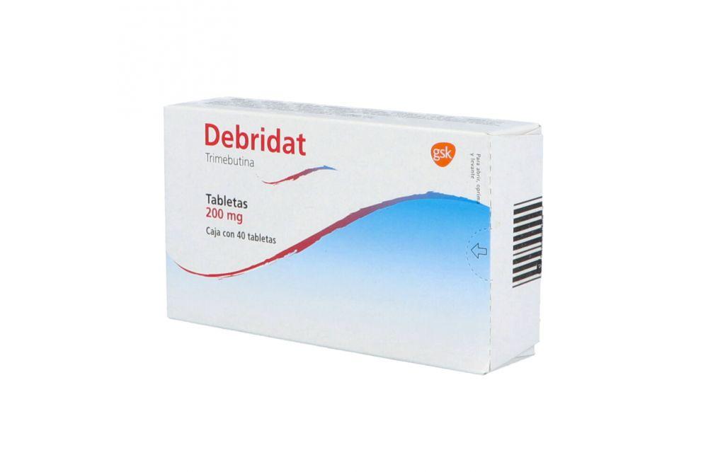 Debridat 200 mg Caja Con 40 Tabletas