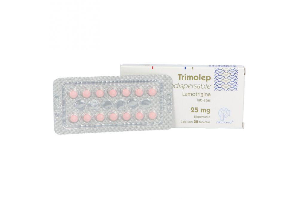 Trimolep Orodispersable 25 mg Caja Con 28 Tabletas