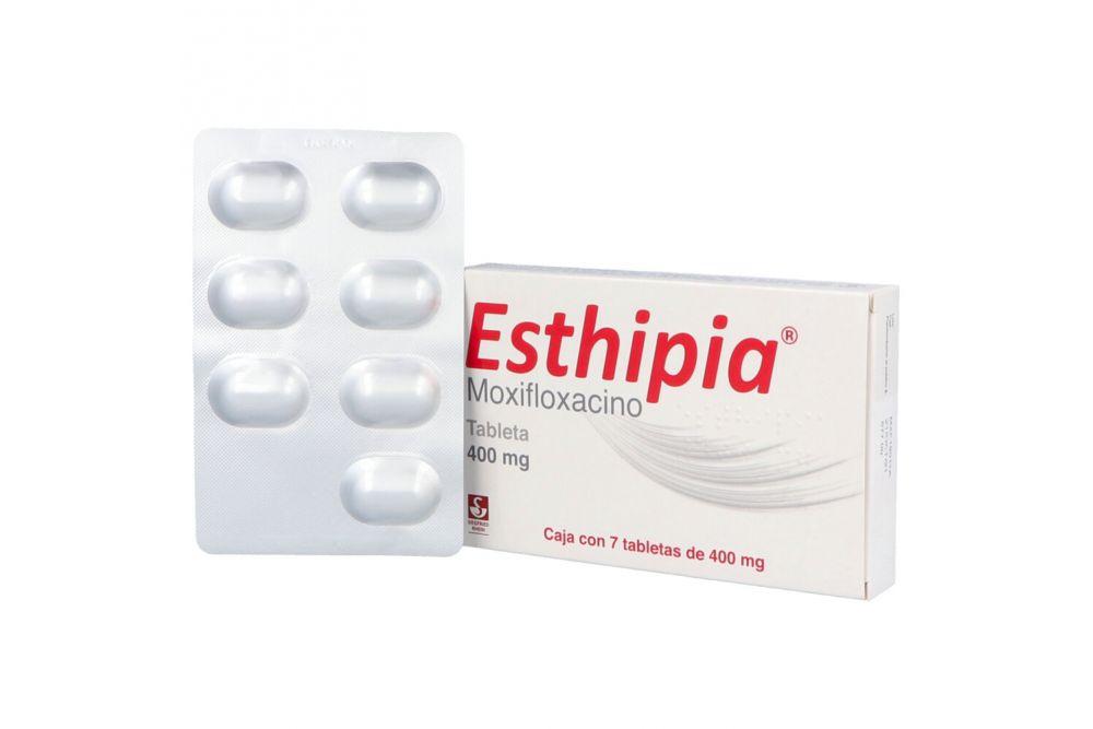 Esthipia 400 mg Caja Con 7 Tabletas RX2