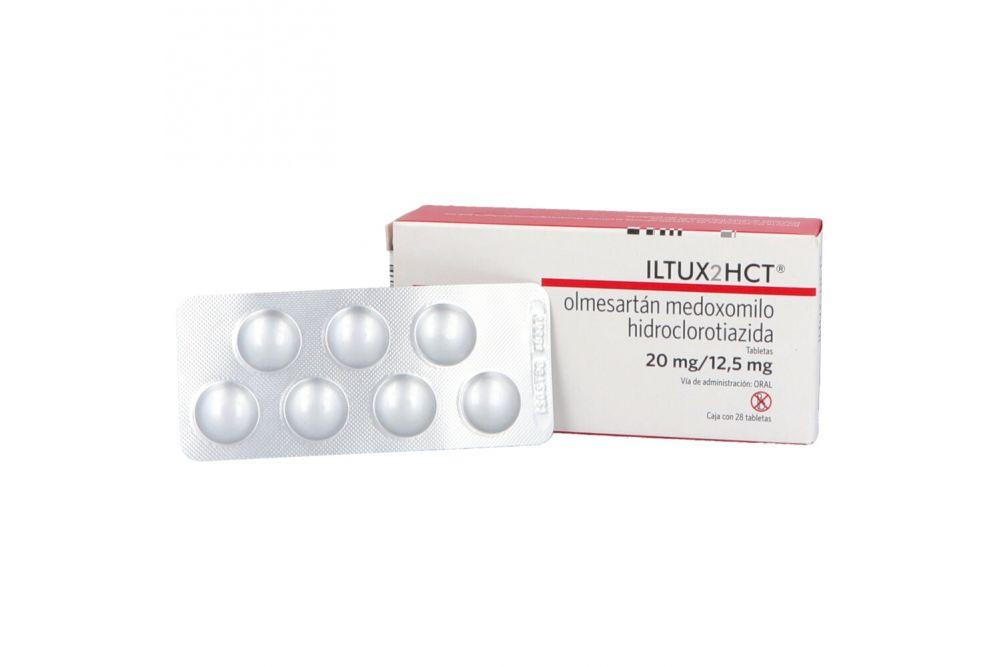 Iltux2hct 20 mg /12,5 mg Caja Con 28 Tabletas