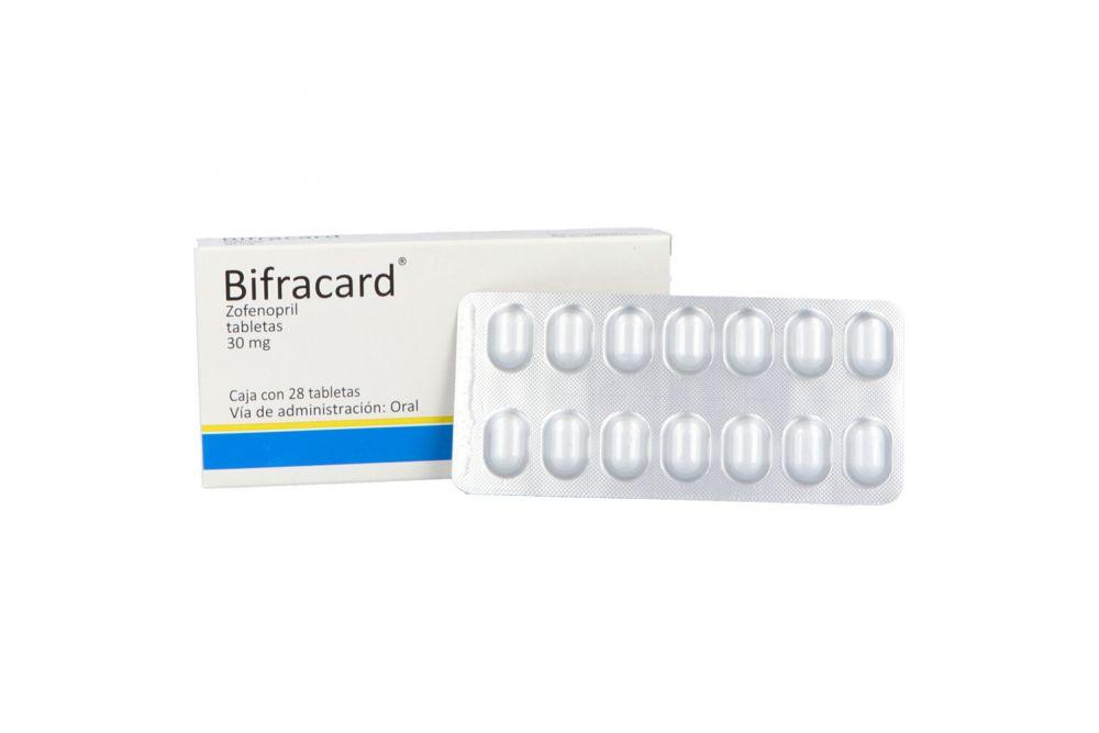 Bifracard 30 mg Caja Con 28 Tabletas