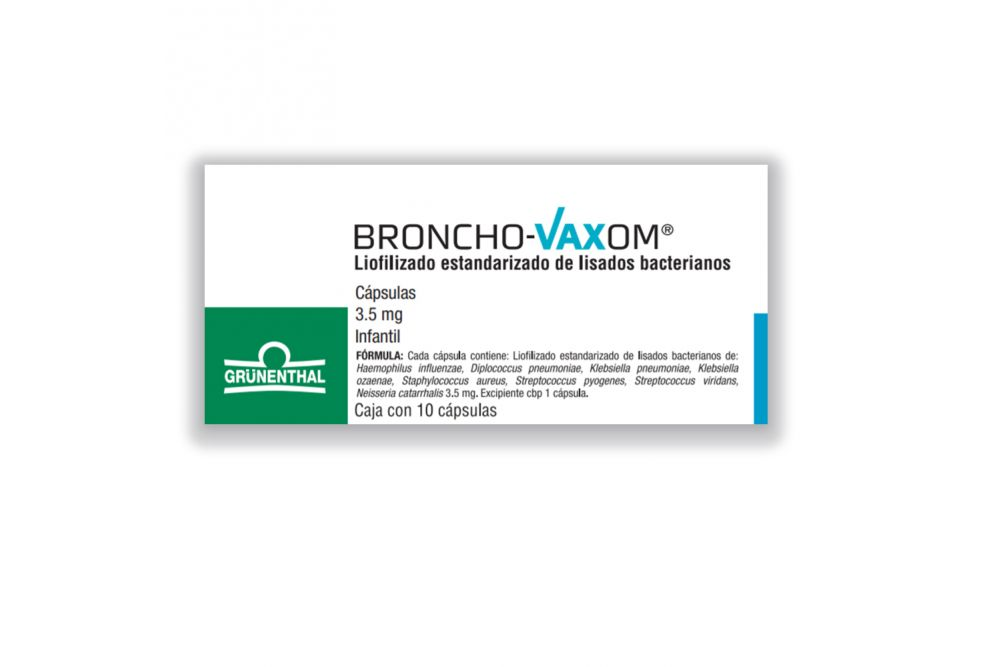 Broncho Vaxom Infantil 3.5 mg Granulado Caja Con 10 Sobres