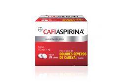 Cafiaspirina 500/30 mg Caja con 100 Tabletas