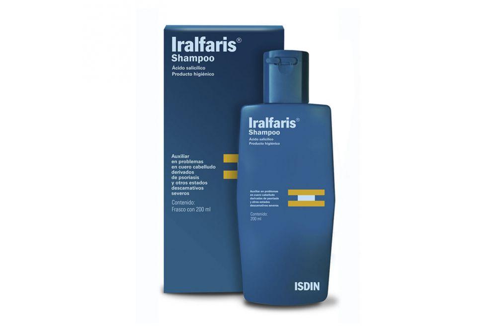 Shampoo Iralfaris Isdin Caja Con Frasco Con 200 mL