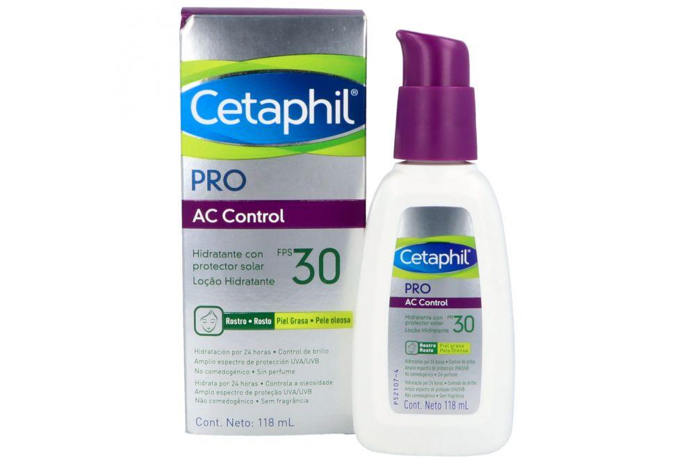 Cetaphil Dermacontrol Fps 30 Hidratante Frasco Con 118 Ml