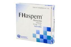Fhaspem Solución 20 mg/1 mL Caja Con 3 Ampolletas