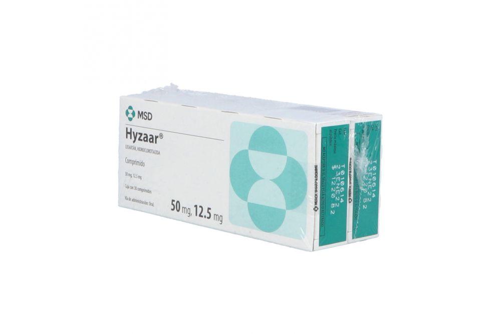 Hyzaar 50 / 12.5 mg Caja Con 30 Comprimidos 2x1