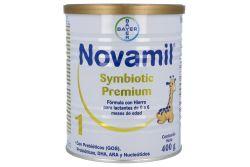 Novamil 1 Symbiotic Premium 400 g 0 a 6 meses
