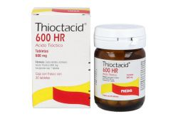 Thioctacid 600 HR 600 mg Frasco Con 30 Tabletas