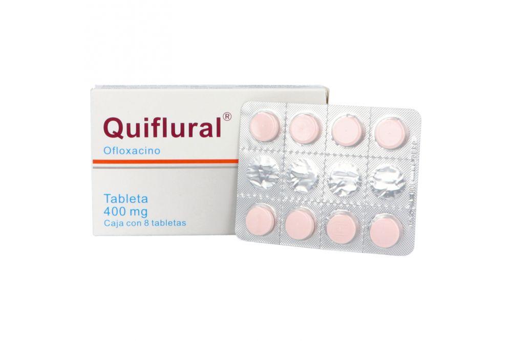 Quiflural 400 mg Caja Con 8 Tabletas -RX2