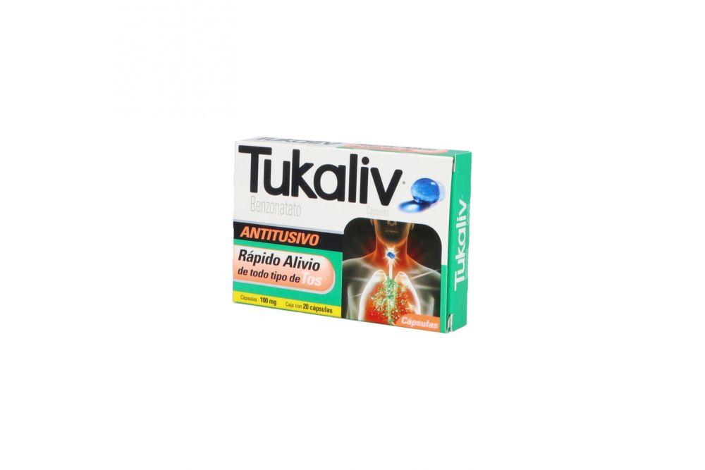 Tukaliv 100 mg Caja Con 20 cápsulas