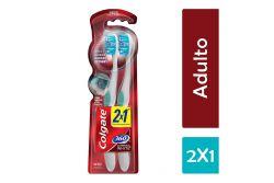 Cepillo Dental Medio Colgate Luminous White 360° Adulto