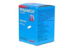 Penamox 12h 875mg Caja Con 8 Tabletas -RX2