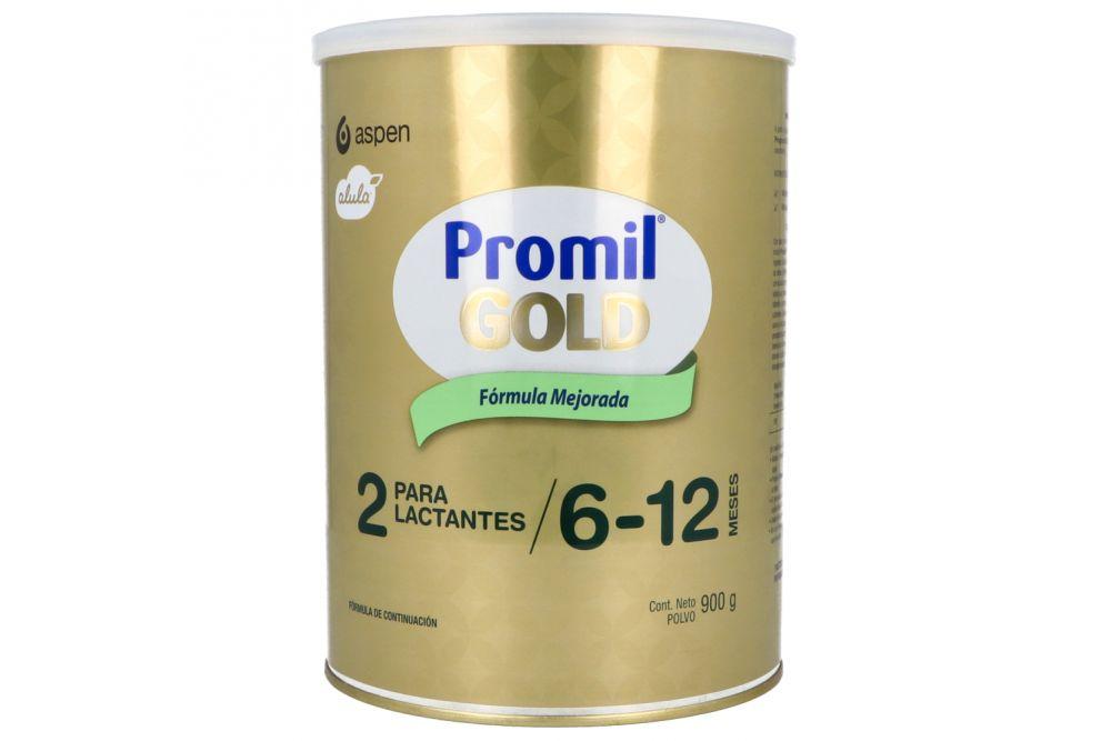 PROMIL GOLD 2 NF LATA CON 900 G EN POLVO.