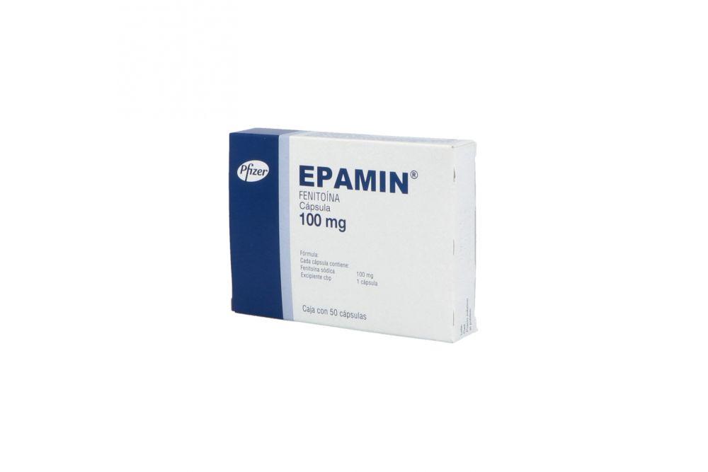 Epamin 100 mg Caja Con 50 Cápsulas