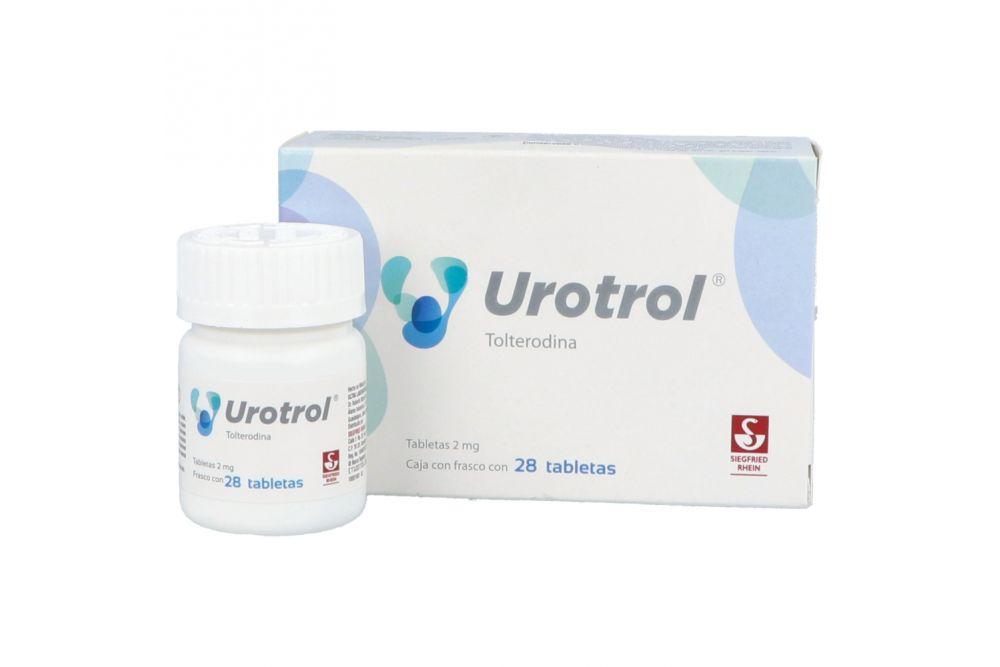 Urotrol 2 mg Caja Con Frasco Con 28 Tabletas