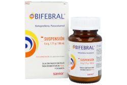 Bifebral Suspensión Frasco con polvo para 70 mL