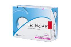 Isorbid AP 40 mg Caja Con 40 Cápsulas