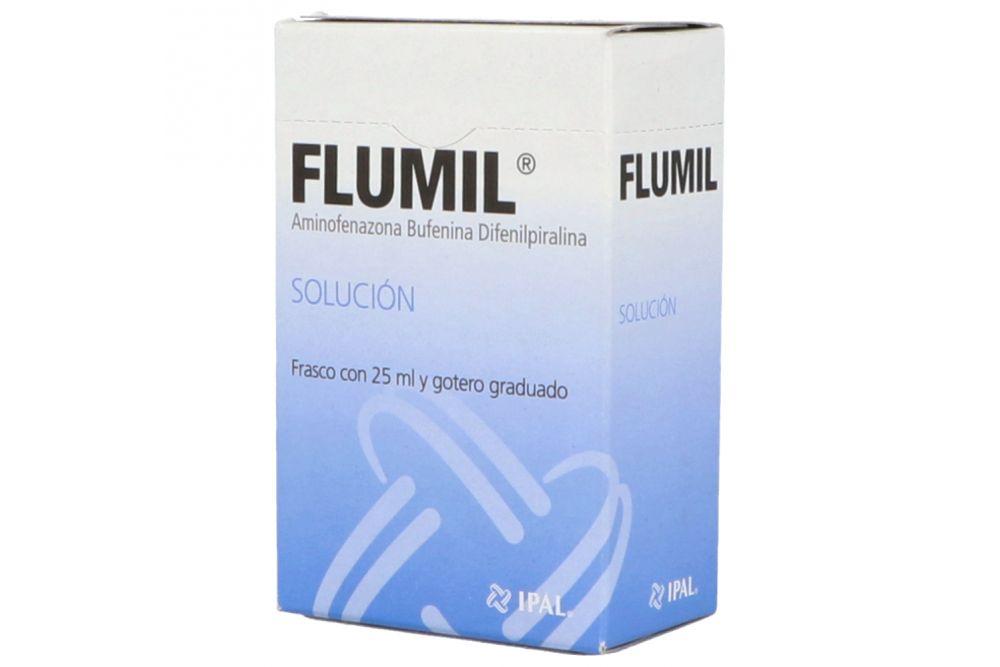 Flumil Solución Caja Con Frasco Con 25 mL