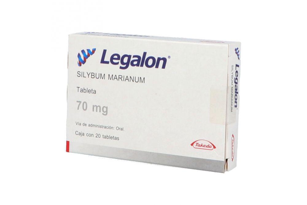 Legalon 70 mg Caja Con 20 Tabletas