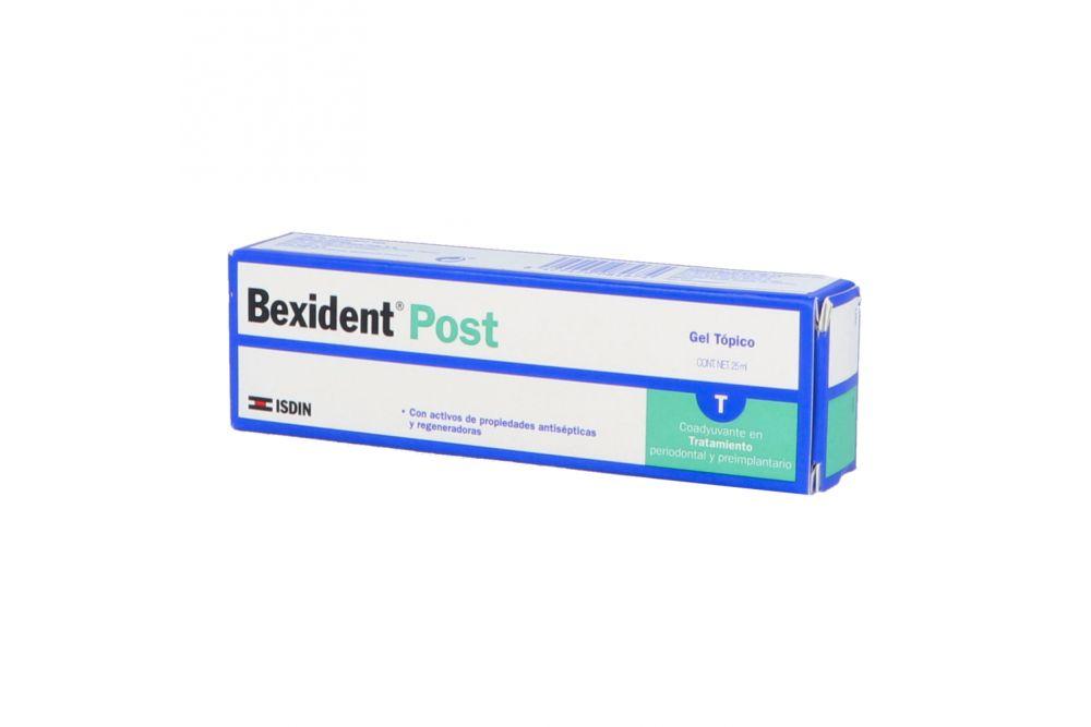 Bexident Post Gel Caja Con Tubo Con 25 mL