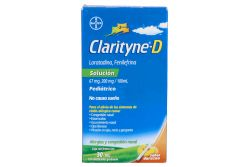 Clarityne D Solución Pediátrica 0.67mg/2mg/1mL