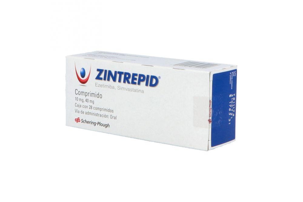 Zintrepid 10 / 40 mg Caja Con 28 Comprimidos