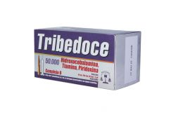 Tribedoce Solución Inyectable 50000 mcg / 100 mg / 50 mg Caja Con 5 Ampolletas 2 mL
