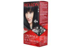 Tinte Revlon Colorsilk Negro 10 Caja Con Frasco Con 130 mL