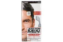 Tinte Just For Men Ultra Negro 35 Caja Con Frasco Con 60 mL