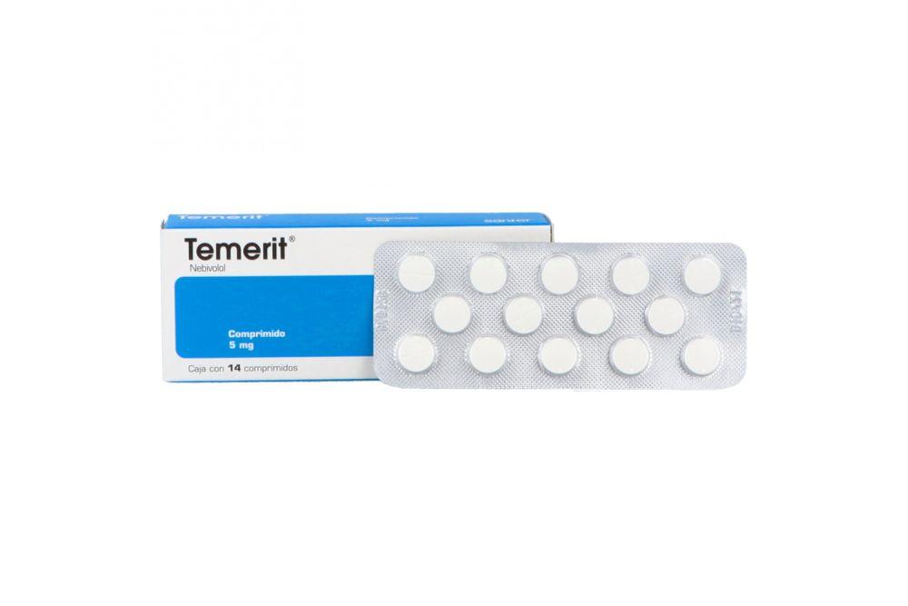 Temerit 5 mg Caja Con 14 Comprimidos
