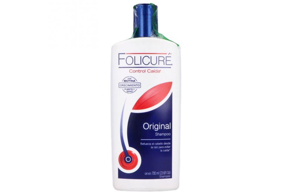 Shampoo Folicuré Original Botella Con 700 mL