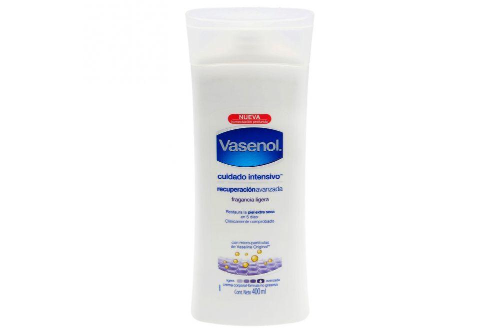 Crema Vasenol Recuperación Intensivo Botella Con 400 mL