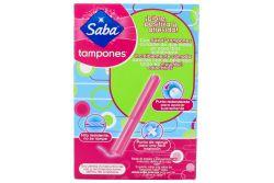 Saba Caja Con 10 Tampones