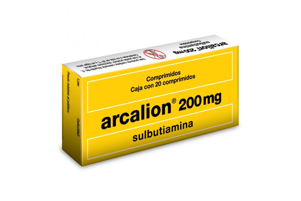 Arcalion 200 mg Caja Con 20 Comprimidos Recubiertos