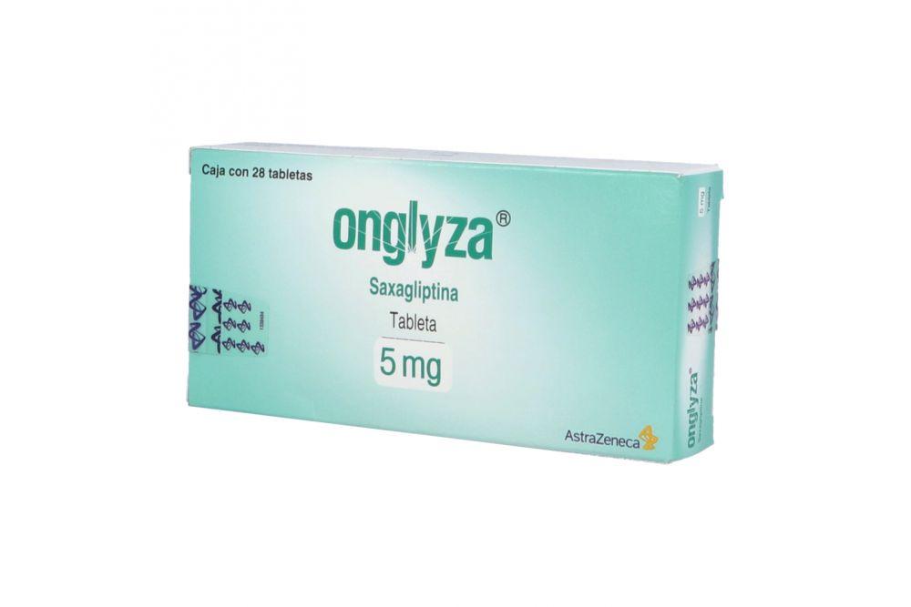 Onglyza 5 mg Caja Con 28 Tabletas