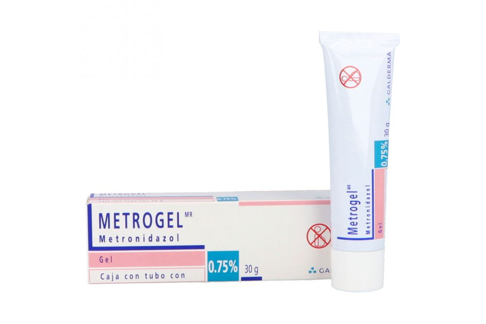 Metrogel 0.75 % Caja Con Tubo Con 30 g