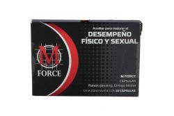 M Force Frasco Con 10 Cápsulas