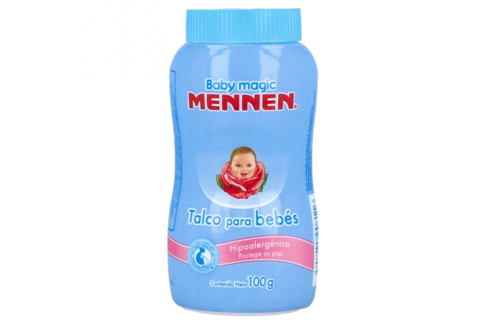Mennen Talco Para Bebés Frasco Con 100 g