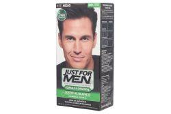 Just For Men Tinte Colorante En Shampoo Caja Con Tubo 60 mL  Color Negro