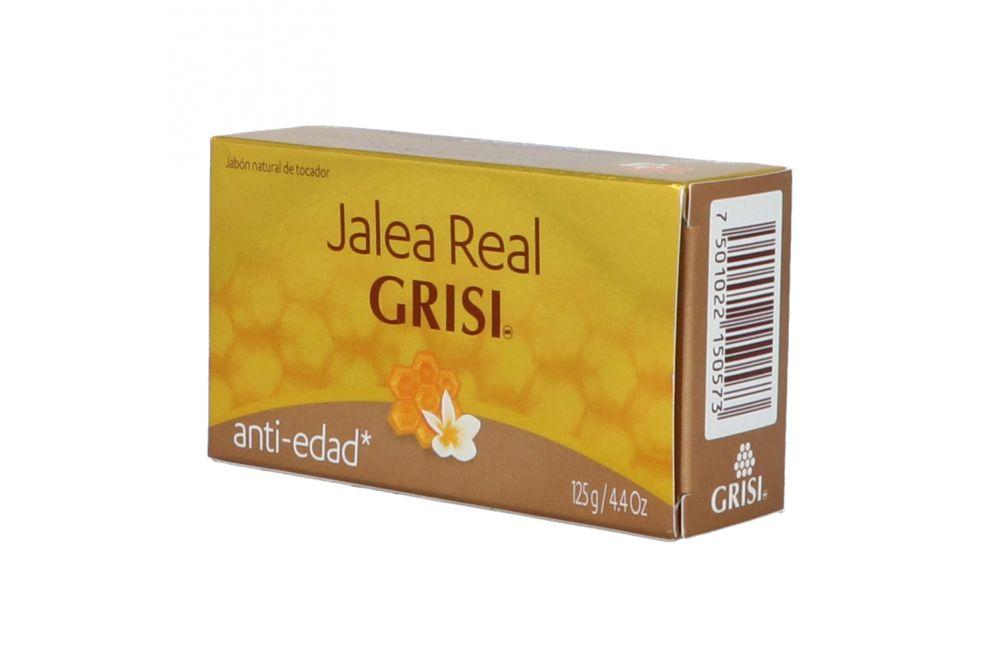 Grisis Jalea Real Antiedad Jabón Caja Con Barra De 125 g