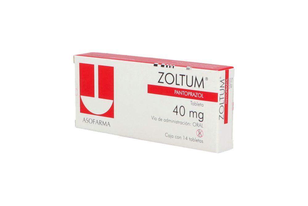 Zoltum 40 mg Caja Con 14 Comprimidos