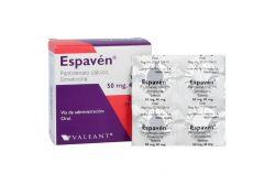 Espavén 50 mg / 40 mg Caja Con 24 Tabletas