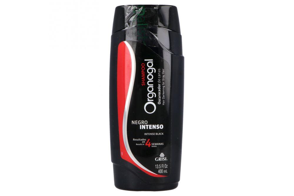 Shampoo Grisi Organogal Negro Intenso Botella Con 400 mL