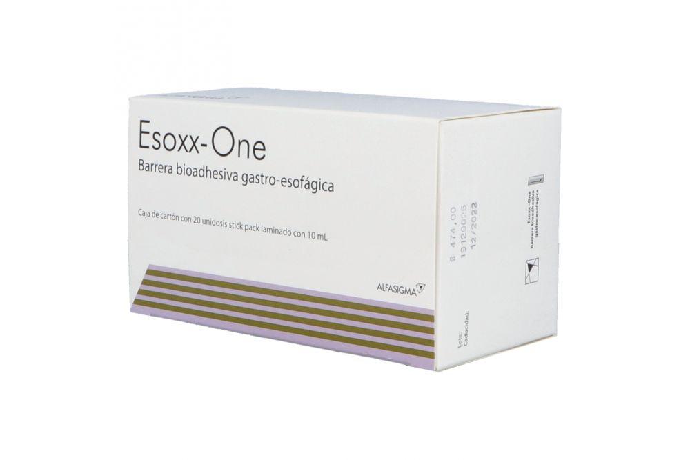 Esoxx One Caja Con 20 Unidosis Con 10 mL