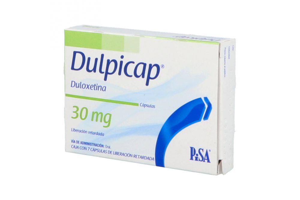 Dulpicap 30 mg Caja Con 7 Cápsulas