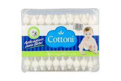 Cottoni Aplicadores De Algodón Para Bebé 60 Pieza