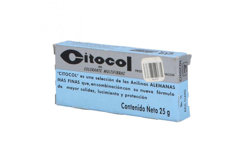 Citocol Colorante Multifibras Caja Con Barra Con 25 g Azul Claro