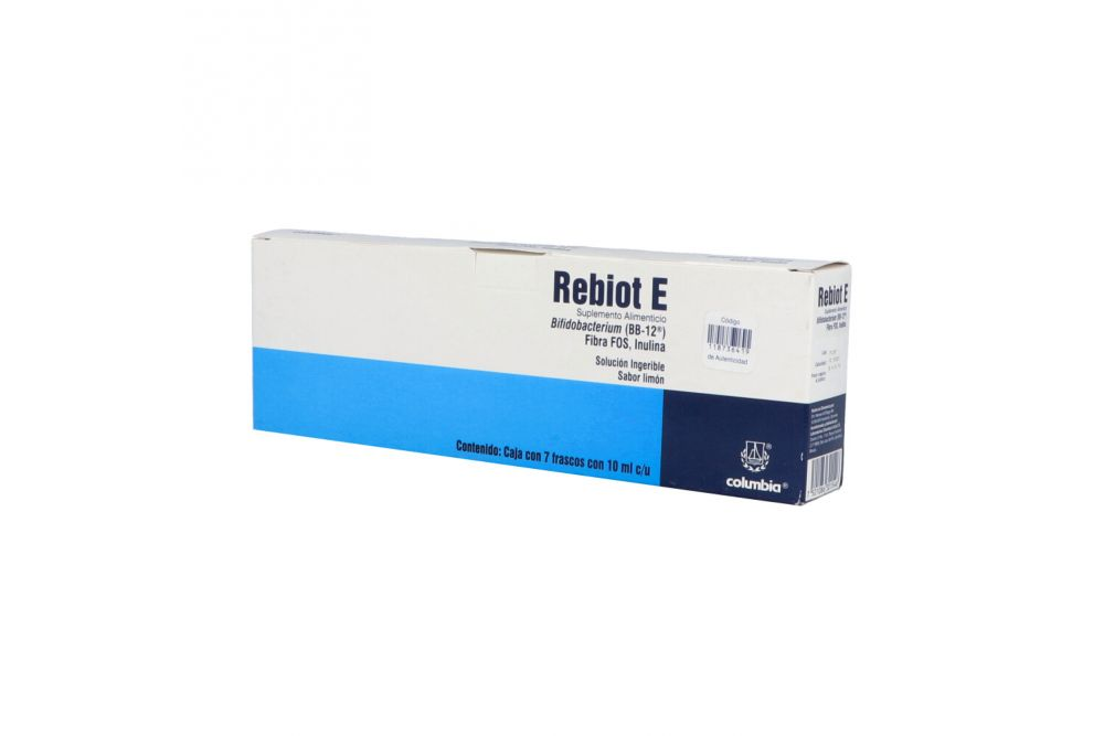 Rebiot E Solución Caja Con 7 Frasco Con 10 mL